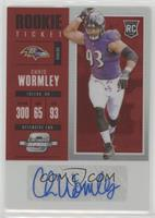Rookie Ticket Autograph - Chris Wormley /75