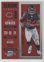 Season Ticket - Jordan Howard /199