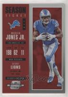 Season Ticket - Marvin Jones Jr. #/199