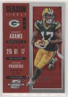 Season Ticket - Davante Adams #/199