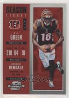 Season Ticket - A.J. Green /199