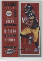 Season Ticket - Antonio Brown #/199