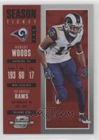 Season Ticket - Robert Woods /199