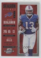 Season Ticket - Kelvin Benjamin #/199