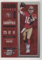 Season Ticket - Jimmy Garoppolo #/199