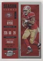 Season Ticket - Carlos Hyde /199