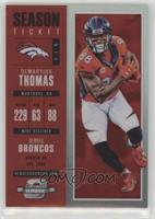 Season Ticket - Demaryius Thomas /199