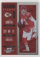 Season Ticket - Alex Smith #/199