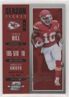 Season Ticket - Tyreek Hill #/199