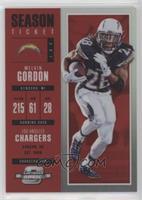 Season Ticket - Melvin Gordon #/199