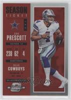 Season Ticket - Dak Prescott #/199