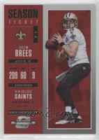 Season Ticket - Drew Brees /199