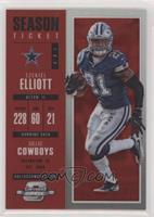 Season Ticket - Ezekiel Elliott #/199