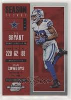 Season Ticket - Dez Bryant #/199
