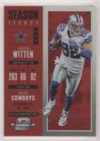Season Ticket - Jason Witten #/199