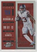 Season Ticket - Odell Beckham Jr. #/199