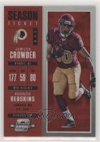 Season Ticket - Jamison Crowder /199 [EXtoNM]