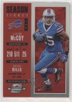 Season Ticket - LeSean McCoy #/199
