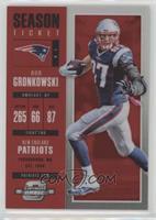 Season Ticket - Rob Gronkowski /199