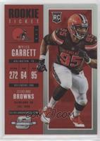 Rookie Ticket - Myles Garrett #/199