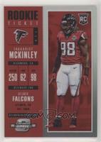 Rookie Ticket - Takkarist McKinley /199