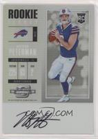 Rookie Ticket RPS Autograph - Nathan Peterman [EXtoNM]