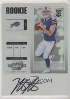 Rookie Ticket RPS Autograph - Nathan Peterman