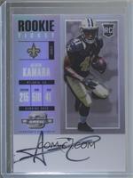 Rookie Ticket RPS Autograph - Alvin Kamara
