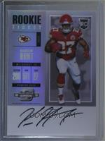 Rookie Ticket RPS Autograph - Kareem Hunt