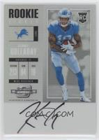 Rookie Ticket RPS Autograph - Kenny Golladay