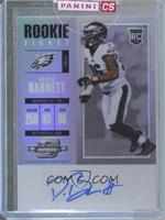 Rookie Ticket Autograph - Derek Barnett [Uncirculated]