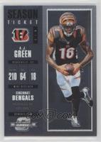 Season Ticket - A.J. Green