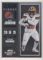 Season Ticket - Duke Johnson