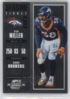 Season Ticket - Von Miller