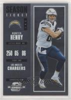 Season Ticket - Hunter Henry