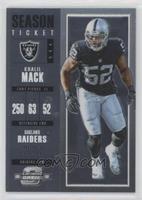 Season Ticket - Khalil Mack