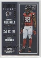 Rookie Ticket - Takkarist McKinley
