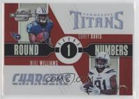 Corey Davis, Mike Williams #/49
