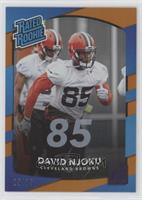 Rated Rookies - David Njoku #/85