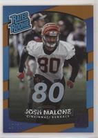 Rated Rookies - Josh Malone [EXtoNM] #/80