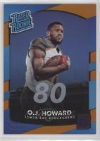 Rated Rookies - O.J. Howard /80