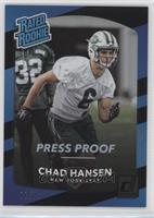 Rated Rookies - Chad Hansen #/10