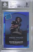 Rated Rookies - Alvin Kamara [BGS9MINT]