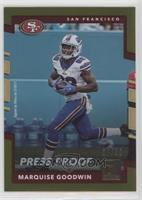 Marquise Goodwin #/50