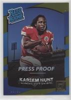 Rated Rookies - Kareem Hunt #/50