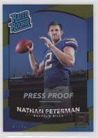 Rated Rookies - Nathan Peterman #/50