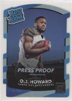 Rated Rookies - O.J. Howard /75