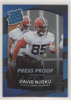 Rated Rookies - David Njoku #/100