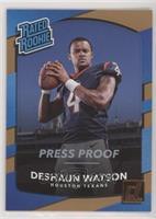 Rated Rookies - Deshaun Watson