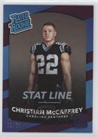 Rated Rookies - Christian McCaffrey #/63